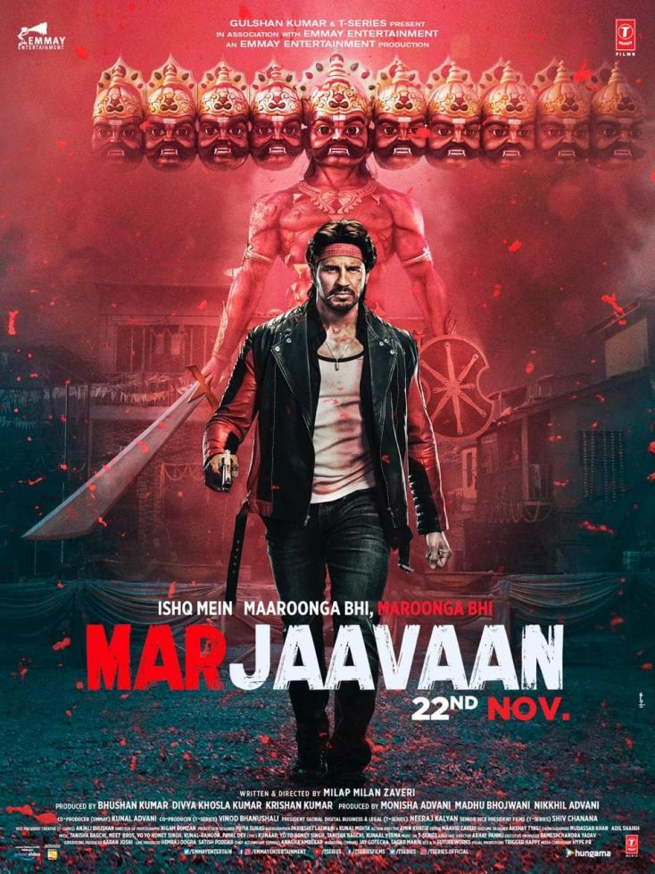 Marjaavaan Box Office Day 4 Collection: Sidharth Malhotra and Riteish Deshmukh Film Collects INR 28.42 Crore