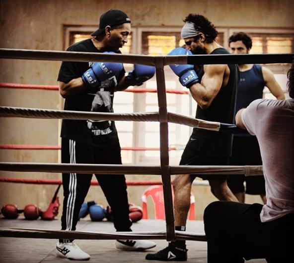 Farhan Akhtar's INTENSE Prep for Boxing Film Toofan Revealed