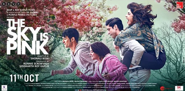 Priyanka Chopra Posts the First Poster Of 'The Sky Is Pink' Which Is All About Young and Crazy Vibes
