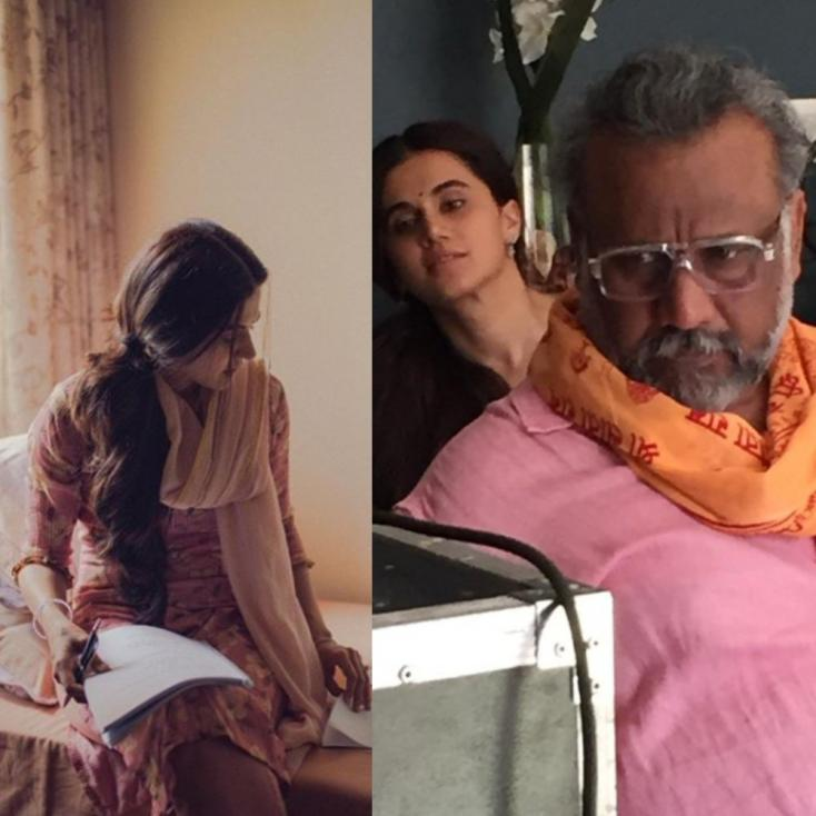 Taapsee Pannu Posts a Behind-the-Scenes Photo From the Sets of Thappad