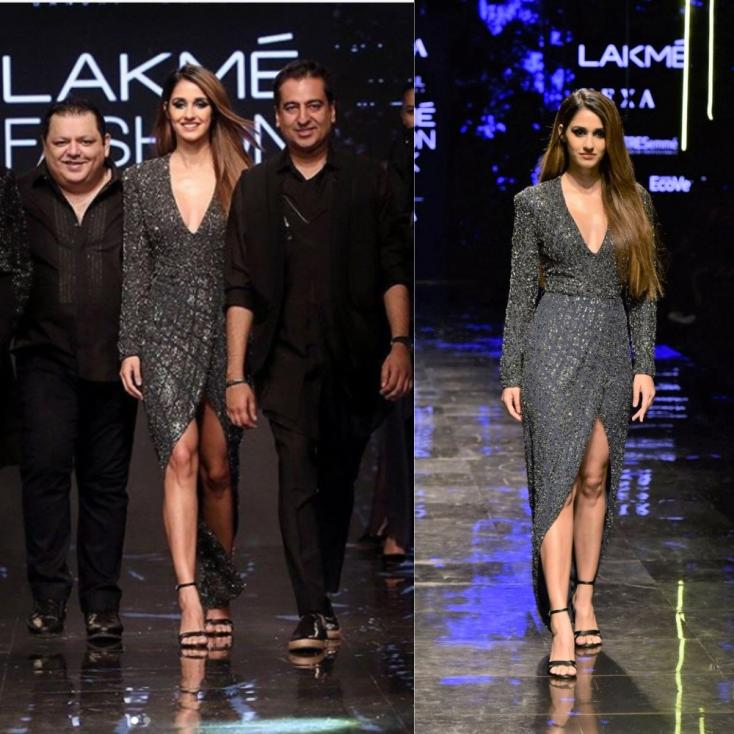 Disha Patani 'Thrilled' at the Opportunity to Turn Showstopper at Lakme Fashion Week; Exudes Glitz and Glamour