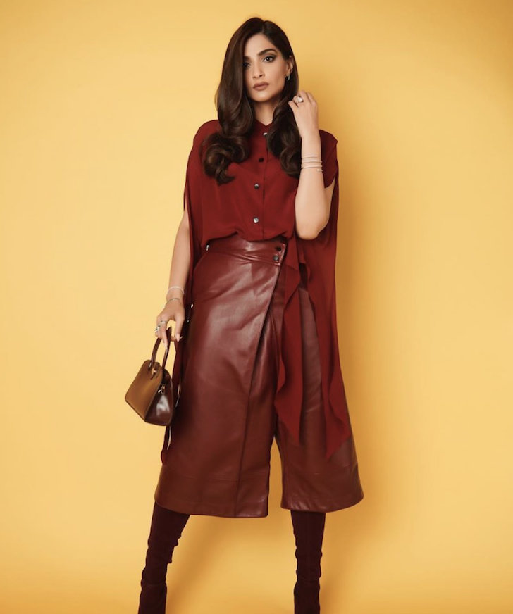 Sonam Kapoor Amps Up Style Quotient For Film Promotions
