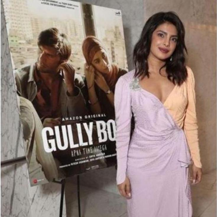 Priyanka Chopra Hosted the Screening of Gully Boy at Amazon Studios