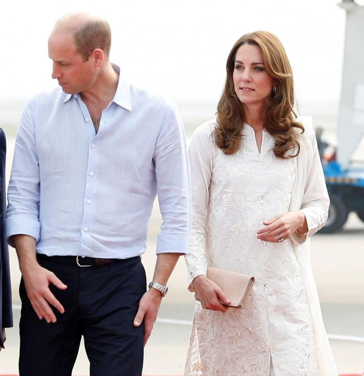 Prince William and Kate Middleton in Pakistan: The royal Couple Has Finally Landed in Islamabad After the Last Night's Storm