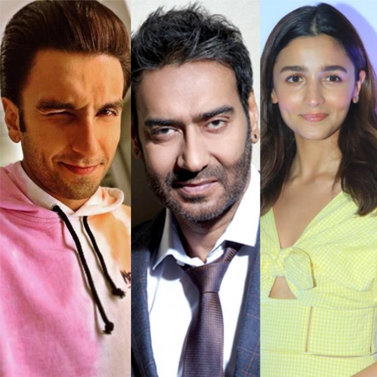Ranveer Singh to Lead in Sanjay Leela Bhansali's Baiju Bawra While Ajay Devgn Stars Opposite Alia Bhatt in Gangubai Kathiawadi