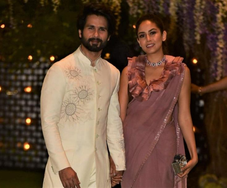 Shahid, Mira Kapoor Make A Dreamy Appearance At The Ambani Bash
