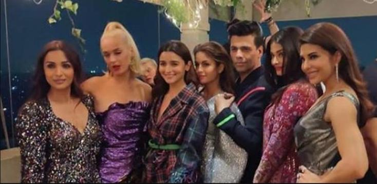 Katy Perry's Visit to India: Karan Johar Hosts Welcome Party