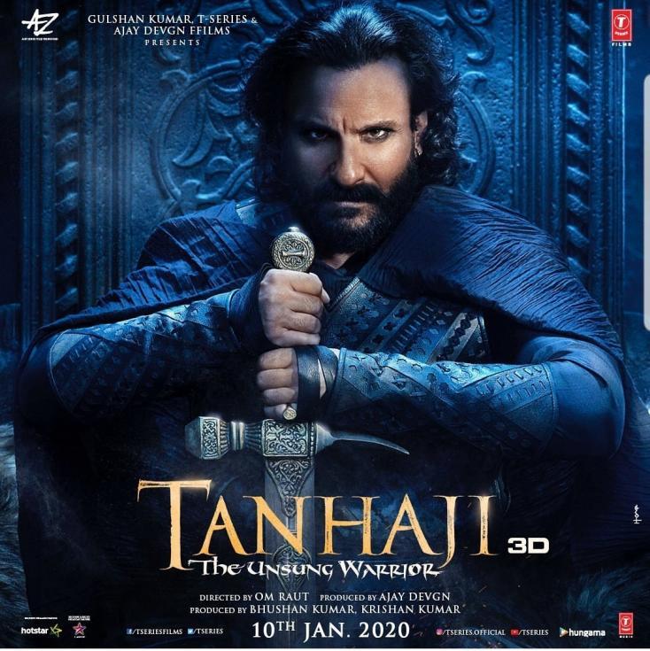 Saif Ali Khan Sings Praise for Ajay Devgan on Trailer Launch of Tanhaji: The Unsung Warrior