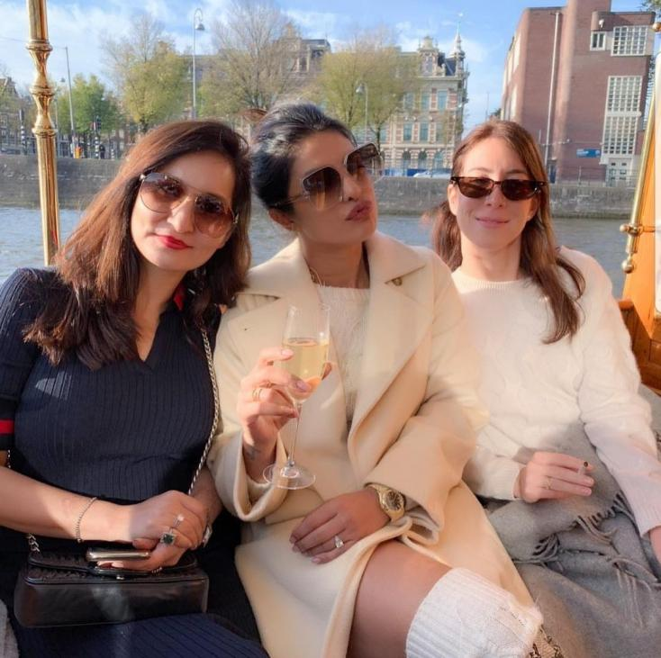 Priyanka Chopra is Making the Most of Her Time in Delhi With Friends and Family