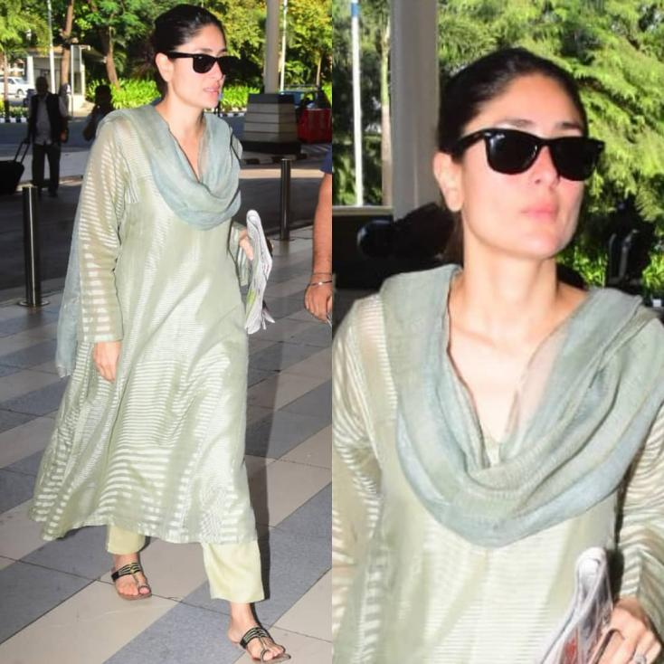 Kareena Kapoor Exudes Elegance in Latest Desi Look
