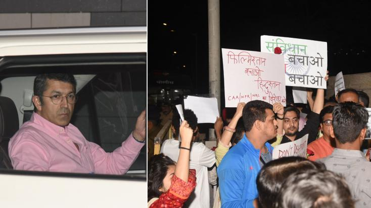 Piyush Goyal Dinner: Bollywood Celebrities Arrive Amid Protests Outside the Venue