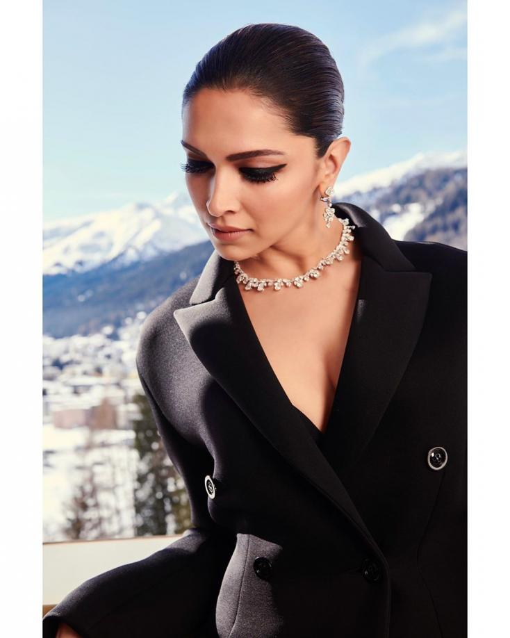 Deepika Padukone is a Class Apart in Latest Look for Davos