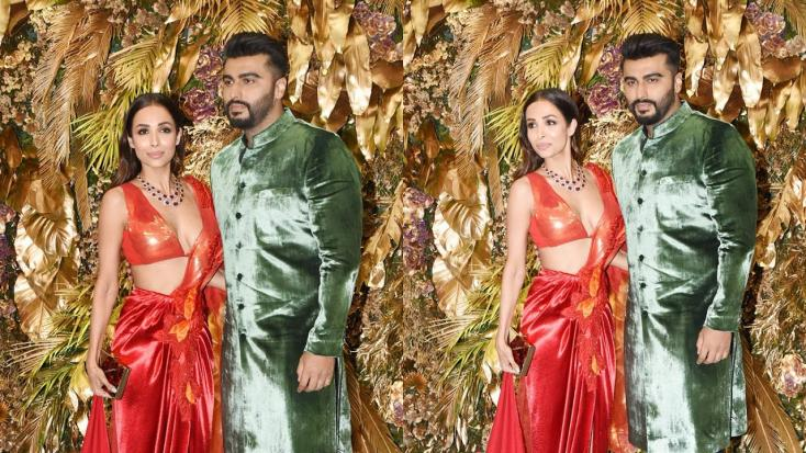 Malaika Arora and Arjun Kapoor Arrive Together for Armaan Jain's Wedding Reception