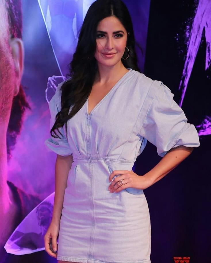 Katrina Kaif is Taking our Blues Away in this Mini Dress
