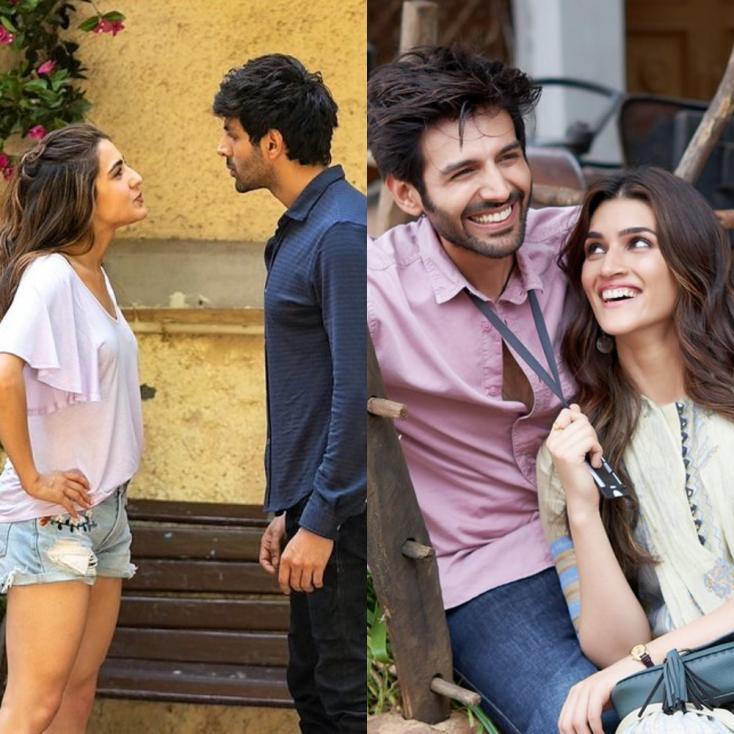 Kriti Sanon Reminds Kartik Aaryan of Luka Chuppi As He Promotes Love Aaj Kal