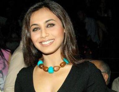 Rani Mukherji's solo promotions
