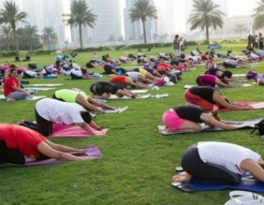 20th September 2013: Yogathon Challenge