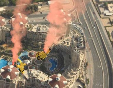See Base Jumpers Leap Off the Burj Khalifa in Dubai!