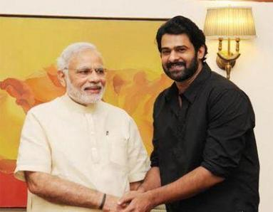 When Bahubali Prabhas Met Indian PM Narendra Modi