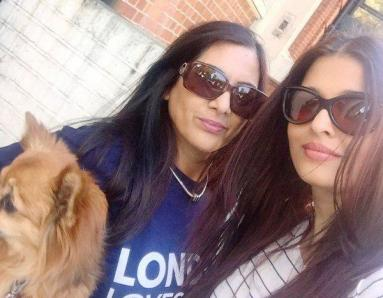 Aishwarya and Aaradhya Chill In London
