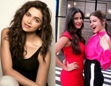 Deepika Padukone's EPIC Reaction To Anushka Sharma And Katrina Kaif's Koffee With Karan Episode