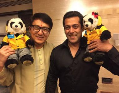 Salman Khan and Jackie Chan BOND!