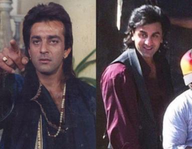 Ranbir Kapoor's New Look for the Sanjay Dutt Biopic