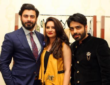 Launch of Silk by Fawad Khan at the Ensemble Dubai Exhibition