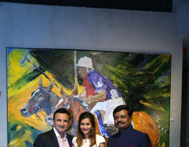 Artistic Exhibition by M.Narayan