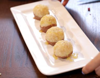 Diwali Recipe: Coconut Barfi With Chocolate And Passion Fruit
