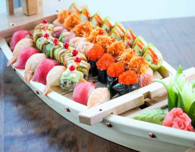 Food News: Level 43 Sky Lounge Introduces Live Sushi Counter