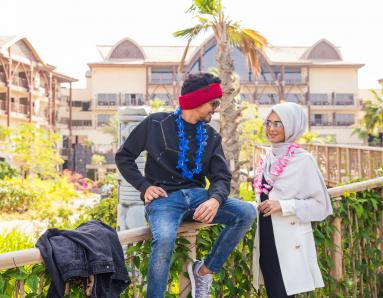 Dubai Influencers Ajmal and Jumana Khan Went on A Spacation. This is Their Diary