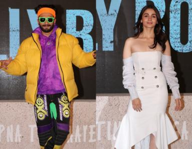 'Gully Boy' Trailer Launch: Ranveer Singh and Alia Bhatt Have Fun At The Launch