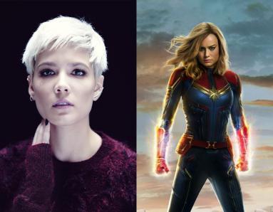 Halsey Says Captain Marvel Uplifts Her Mood, Schools Troll