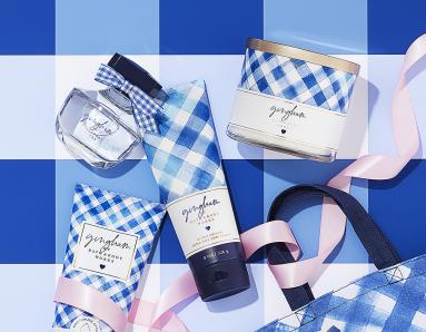 "Bath & Body Works is Launching Gingham, its ""Happiest Fragrance Ever!"""