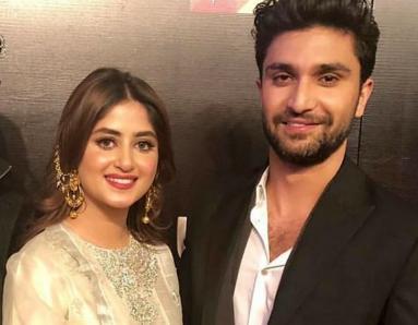 Sajal Ali Shares a Sneak Peek From Her TV Show With Ahad Raza Mir, Dhoop Ki Deewar