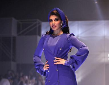 Jacqueline Fernandez Rocks the Ramp at the Party at the Annual Splash Bash