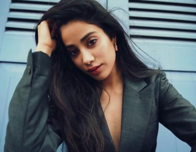 Janhvi Kapoor Rocks Double Denim Like Nobody's Business