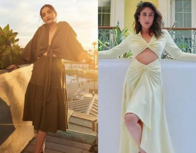 Kareena Kapoor And Sonam Kapoor, Fashion Face-Off: Stars Show Some Skin In Similar Outfits