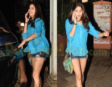 Janhvi Kapoor Sports Casual Attire As She Leaves Arjun Kapoor's Residence