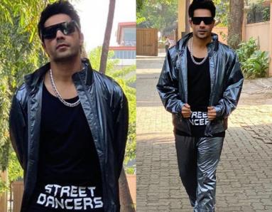 Varun Dhawan Rocks A Metallic Tracksuit; Exuding Major Street Dancer Vibes