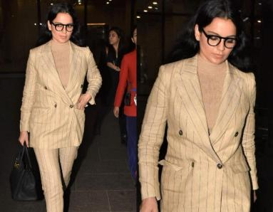 Kangana Ranaut Exudes Major Boss Lady Vibes In Power Suit