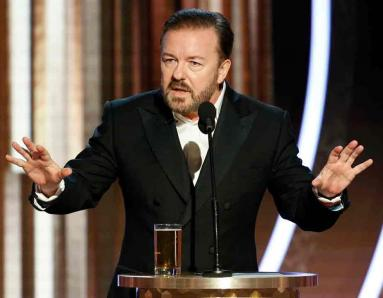 Ricky Gervais as Golden Globes 2020 Host: Did He Actually Go Too Far?