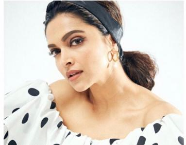 Deepika Padukone Looks Quirky in Latest Polka-Dotted Look