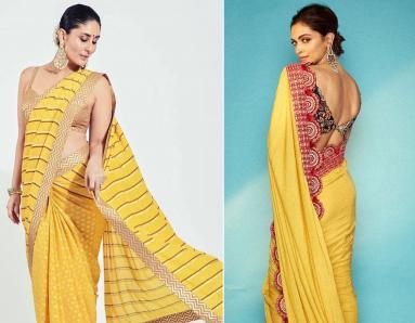 Deepika Padukone, Kareena Kapoor Prove Mustard is the Colour of the Season