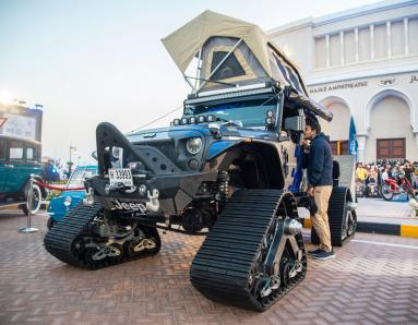Sharjah Wheelers Festival: Car and Bike Enthusiasts Flock to Motor Show