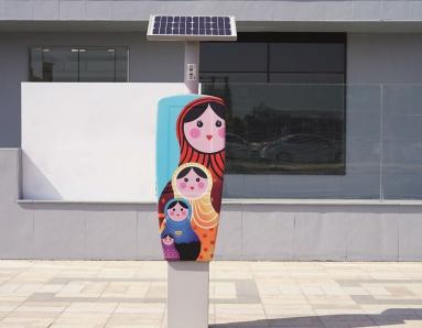 RTA and Brand Dubai Create Art in Parking Spaces
