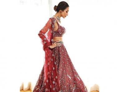Malaika Arora's Latest Look is Proof that Red is a Timeless Classic for Brides-to-be