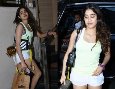 Janhvi Kapoor Adds a Desi Twist to Her Casual Look