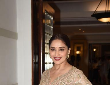 Madhuri Dixit Is a Vision in Gold